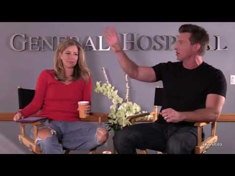 GH JASON CARLY INTERVIEW Steve Burton Laura Wright Sonny Sam General Hospital Preview Promo 11-9-17