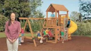 Playstar Wooden Swingsets