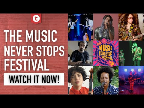 8 Acts, 8 Genres, 1 Virtual Stage | Music Never Stops Festival |  Thomann