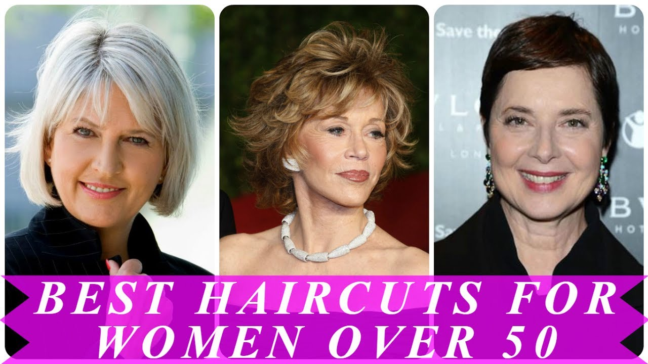best haircuts for women over 50