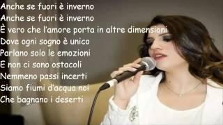 Deborah Iurato - Anche se fuori è inverno (Lyrics)