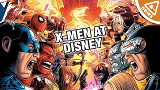 The Fox Deal Is Done - So What Are Disney's X-Men Plans? (Nerdist News w/ Jessica Chobot)