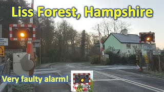 *Very Faulty Alarm* Liss Forest Level Crossing, Hampshire