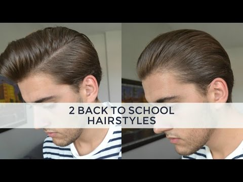 2 Medium/Long Hairstyles | Mens Hair 2016