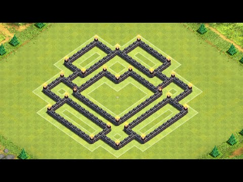 Clash of Clans - BEST Townhall 7 Farming Base - 2014