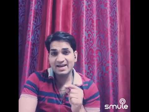 Ek Din Teri Raahon Mein  Naqaab- Video Song Covered  By AshishJangid9 On Smule