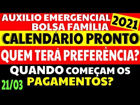 21/03 PRORROGAÇÃO AUXÍLIO EMERGENCIAL BOLSA FAMÍLIA QUANDO COMEÇAM OS PAGAMENTOS? CALENDÁRIO PRONTO!