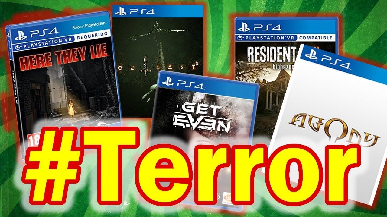 Los Mejores Juegos De Terror Horror Games 2017 Debes Tenerlos Ps4