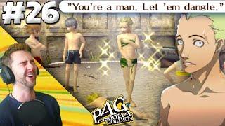 Kanji Hangs Dong On The Beach!   Persona 4 Golden FFP Playthrough (Pt 26)