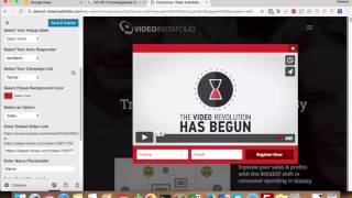 "How to configure ""on page load"" and ""exit"" popups in VideoInstaFolio WordPress Theme"