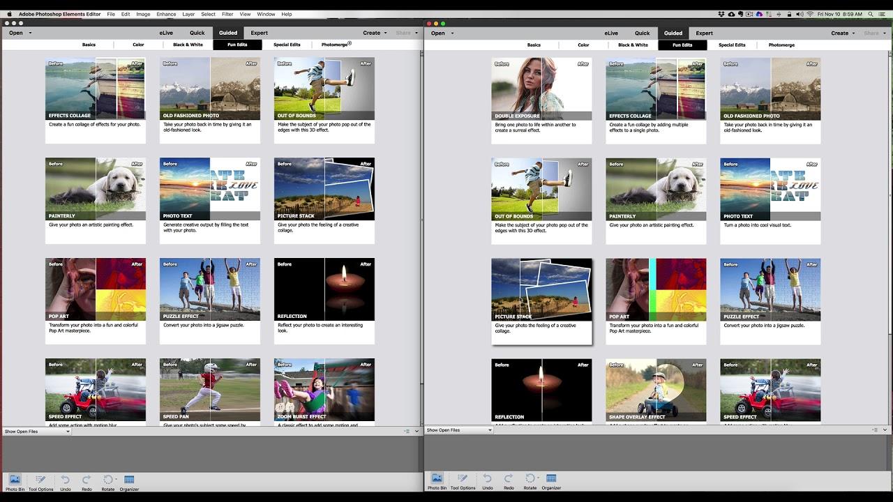 Update-informatie voor oudere versies van Adobe Photoshop