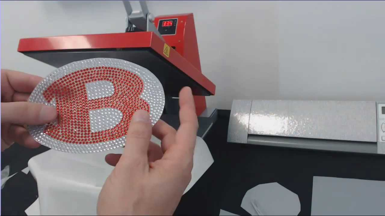 How To Make A Rhinestone Car Decal With BlingNEThing YouTube - Custom car bling decals