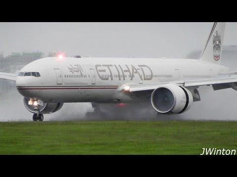 amazing-revere-thrust-&-spray- -wet-planespotting-at-dublin-airport