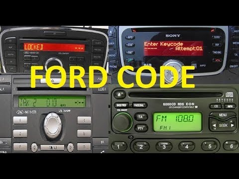 how to decode ford 6000cd 4000 5000 4500 3000 reset. Black Bedroom Furniture Sets. Home Design Ideas