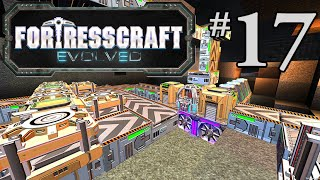 FortressCraft Evolved Gameplay #17 - Pod Production Factory
