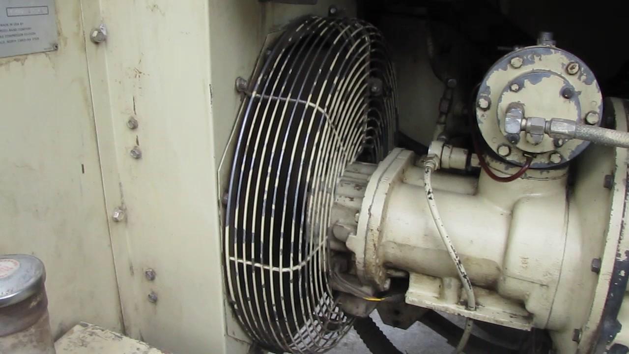 Ingersoll Rand 100 Cfm Rotary Screw Air Compressor Ford