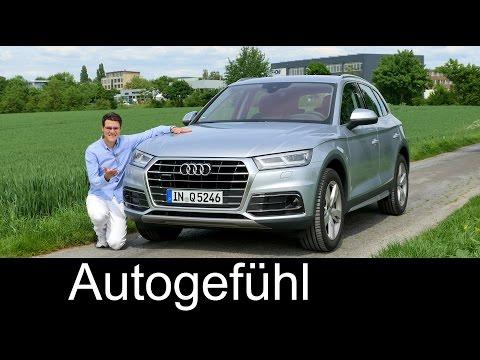 Audi Q5 FULL REVIEW test driven all-new neu SUV generation FY 2018 - Autogefühl