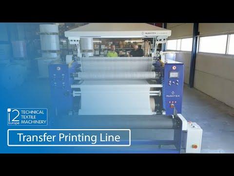 transfer printing line