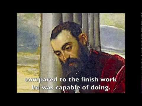 Tintoretto Paintings Exhibit in Rome Italy - Walk Through with Art Conservator Scott Haskins