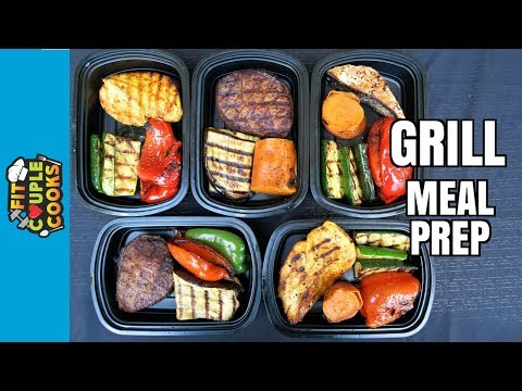 How to Meal Prep Ep. 51 GRILL MEAL PREP SUMMER BBQ HOW TO GRILL