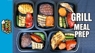 HOW TO GRILL - GRILL MEAL PREP - SUMMER BBQ MEAL PREP thumbnail