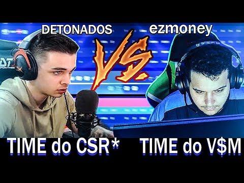 TIME do CSR vs. TIME do vsm (cesinha IGL) - [5x5 ALL STARS do Gaules]