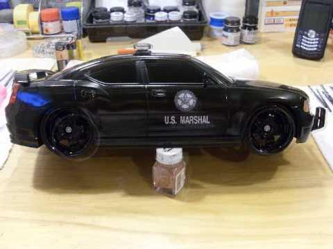 marshal dodge charger custom dub city police car youtube