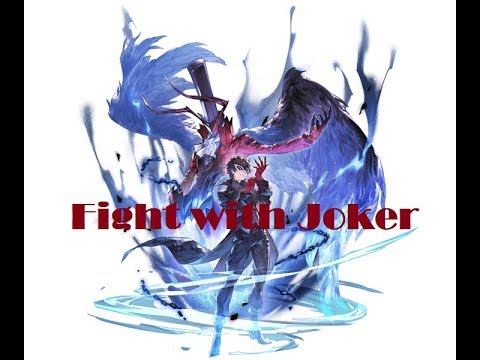 Persona 5 Thievery in blue - GBF Dominion Black Dragon Solo Raid