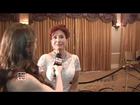 Suzanne DeLaurentiis Film Producer Interview on the Red Carpet at Night of 100 Stars  2011