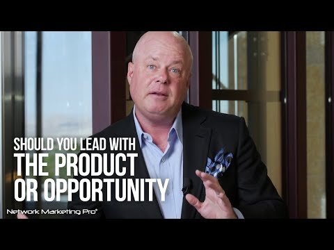 Should You Lead with the Product or the Opportunity?