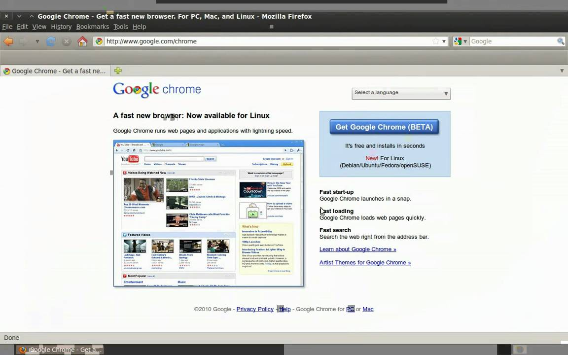 How to install Google Chrome (BETA) in Ubuntu