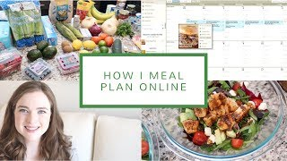 How I Meal Plan Online