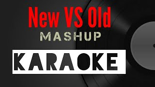 New vs old KARAOKE bollywood songs mashup with lyrics Deepshikha & Raj Barman
