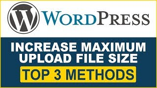 how to increase upload max filesize in xampp