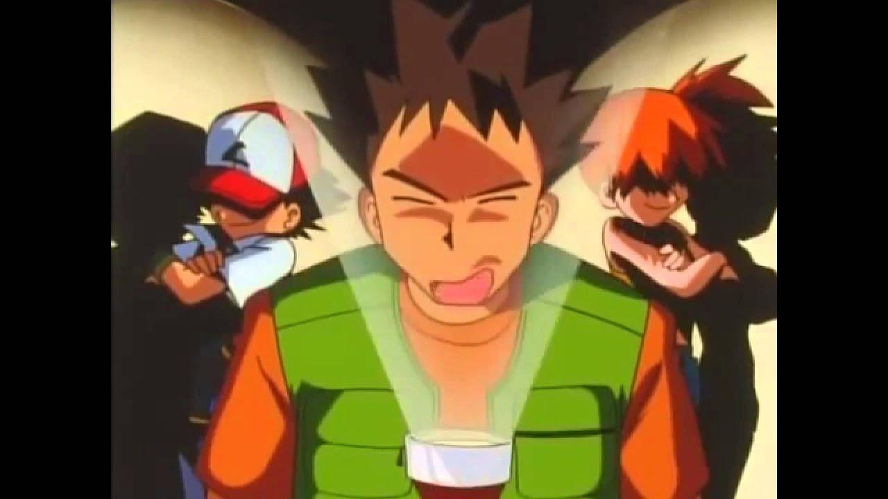 Ash Misty and Brock make fun of Team Rocket - YouTube