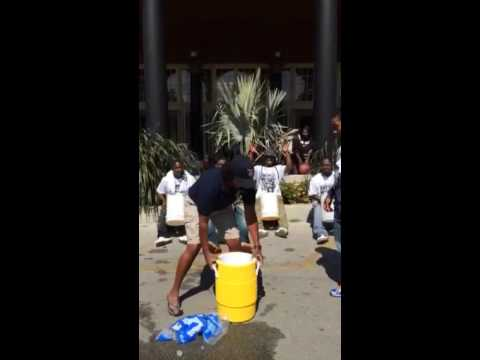 Daphne Johnson, Chicago Parks South Region Manager, Completes ALS Ice Bucket Challenge