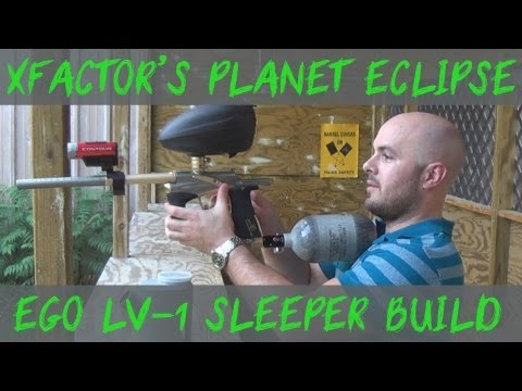 """Planet Eclipse Ego LV-1 """"sleeper build"""" by Boston Paintball - Showcasing and shooting!"""