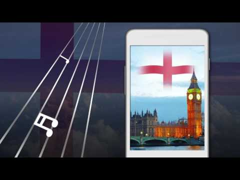 England Flag Live Wallpaper 3D - God Save the Queen