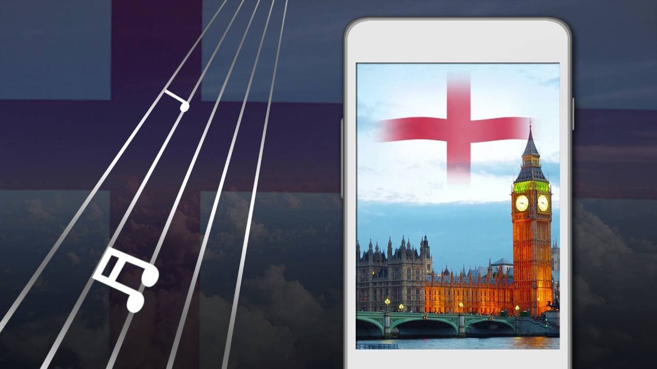 England Flag Live Wallpaper 3d God Save The Queen
