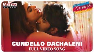 Gundello Dachaleni Full Song || Kothaga Maa Prayanam Movie || Priyanth, Yamini Bhaskar