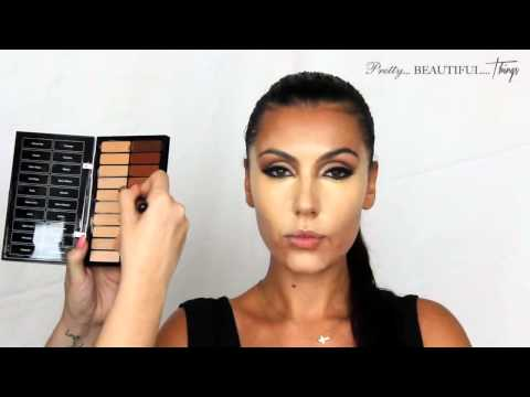 [HD] Makeup Artist Make Up Tutorial Kim Kardashian Professional Get The Look Tutorial 2014