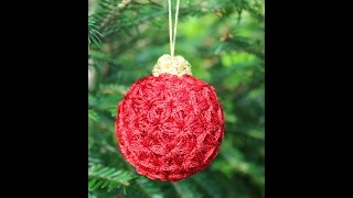 37cb9947c42 Puffed Triangle Star Stitch - Christmas Tree Ornament Part 1 - Crochet