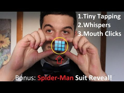 Fastest ASMR Speed Tapping On The Smallest Things With Mouth Clicks!