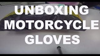 UNBOXING- Furygan Motion Lab motorcycle gloves!!