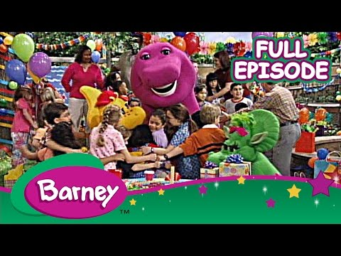Barney - Bonjour, Barney in France (Full Episode)
