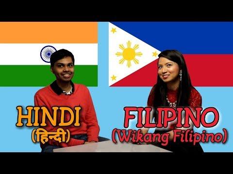Similarities Between Hindi And Filipino