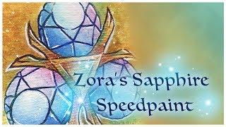 Legend of Zelda Trading Cards: Zora's Sapphire