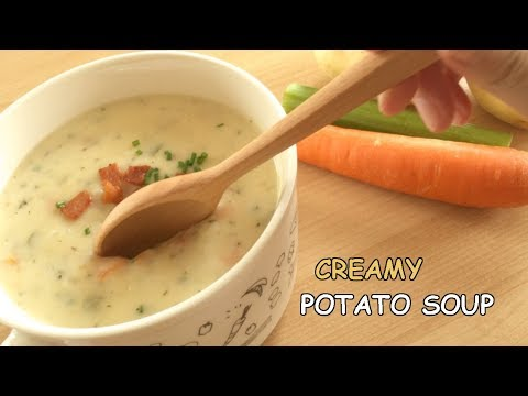Creamy Potato Soup | Perfect Comfort Food For A Cold Winter Day