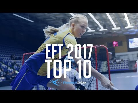 Euro Floorball Tour 2017 Malmö Top 10 Goals (Women)