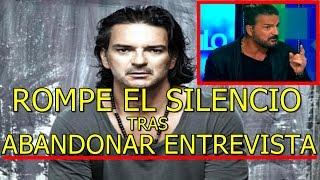 Ricardo Arjona ROMPE EL SILENCIO tras ABANDONAR ENTREVISTA EN VIVO de CNN